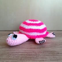 Small crocheted tortoise