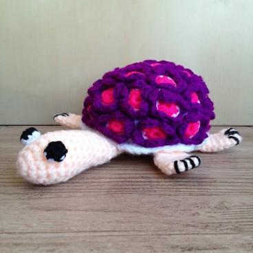 Big crocheted tortoise