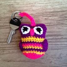 Owl keyring