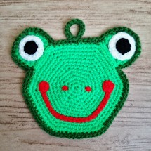 Crocheted coaster