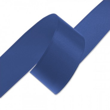 Double Faced Satin Ribbon - Blue (24mm)