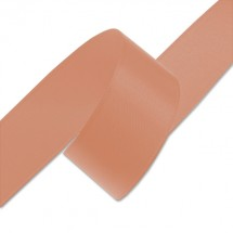 Atlasová stuha - tm.oranžová (24mm)