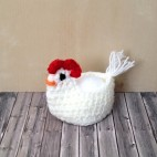 Kuřátko háčkované  3D