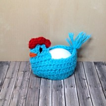 Crocheted Hen