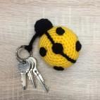 Ladybird keyring