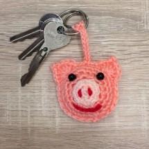 Pig keyring