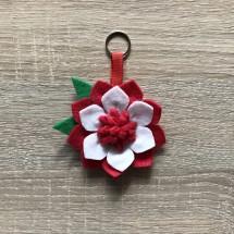 Flower keyring