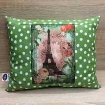 Decorative pillow - eiffel